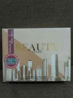 BEAUTY FEMME Perfume and Body Lotion