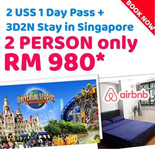 3D2N Singapore and 2 Uss ticket