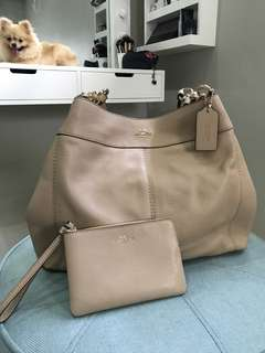 Authentic Coach Bag (wristlet included)