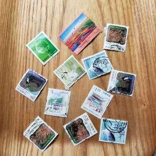 Free 中港郵票