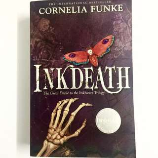 Inkdeath by Cornelia Funke (fantasy young adult adventure book)