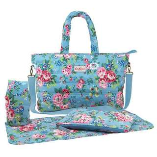 Original Cath Kidston Large Quilted Nappy Bag