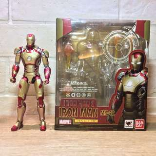 Shfiguarts Bandai Ironman Mark 42 (BIB)