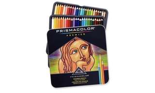 Prismacolor premier soft core colour pencils 專業48色顏色筆
