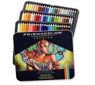 Prismacolor premier soft core coloured pencils 72 counts
