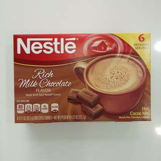 Nestle Hot Cocoa Rich Chocolate Milk Flavor