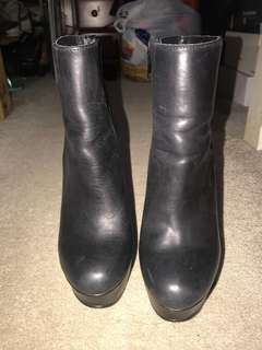 Windsor Smith wedge boots size 6