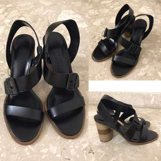 [Wore Once] Charles & Keith - Middle Heels Sandals