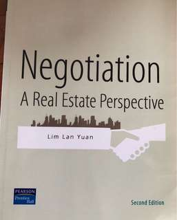 Negotiation A Real Estate Perspective