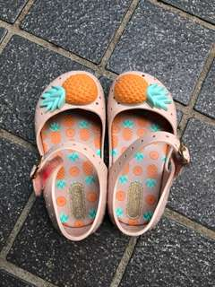 Mini Melissa shoes size US 7