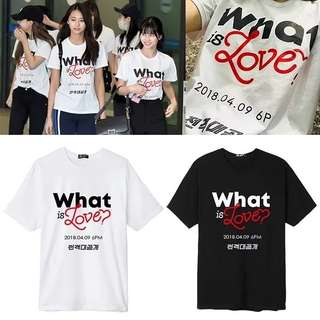 TWICE WHAT IS LOVE SHIRT