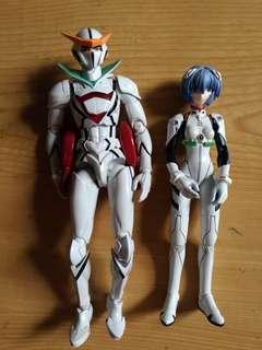 Sentinel Tatsunoko Heroes Fightingear CASSHERN Action figure