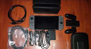 MINT CONDITION! Nintendo Switch Console and Games!