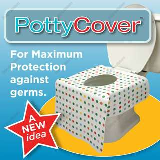 PottyCover disposable toilet seat cover
