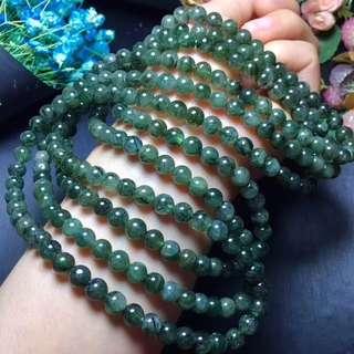 綠髮晶手鍊