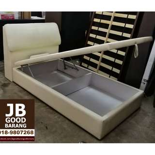 Good quality KingKoil Super Single Storage Bed Frame with Four Star Mattress