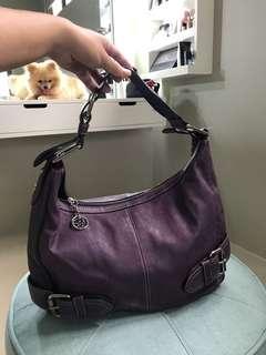 Franco Sarto purple shoulder bag