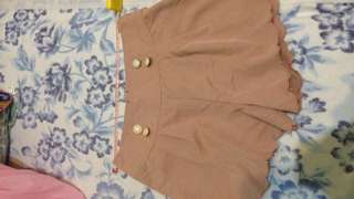 🚚 日牌 粉色夢幻褲裙 #女裝半價