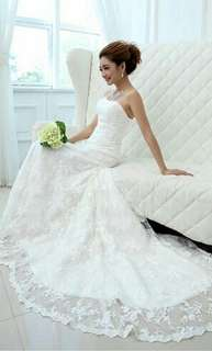 Wedding gown rental $188