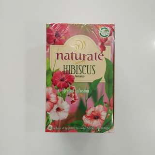 Naturate Hibiscus Natural Infusion Tea