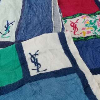 ysl towel collection