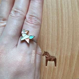 全新立體不規則動物造型介指 Macron Colour Animal Shape Ring