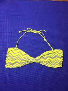 Overrun bikini top