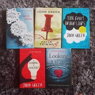 John Green English Novels