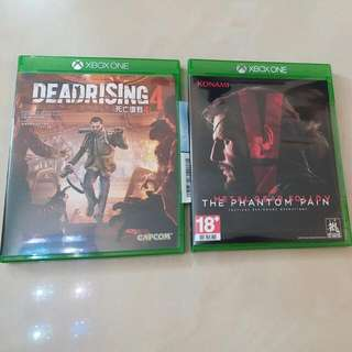 Xbox One Metal Gear Solid /dead Rising 4