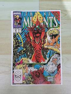 Marvel Comics New Mutants 85 Near Mint Condition Liefeld and McFarlane Cover