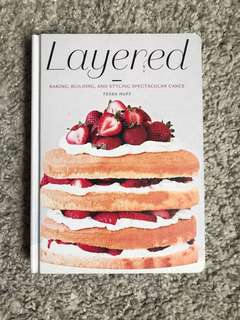 Layered baking recipe book