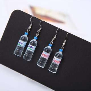 [PO] Korean minimalist cute water bottle earrings
