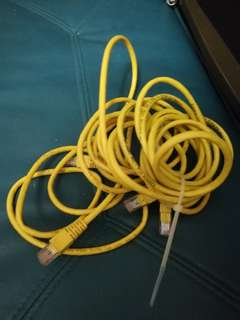 Lan cable CAT 5 1m 1米 2條