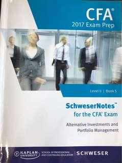 CFA Level  II 2017 Exam Prep Book 5