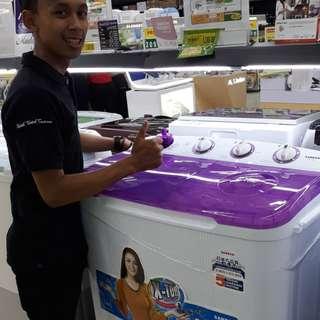 Mesin Cuci 2 tabung SANKEN (promo tanpa dp)