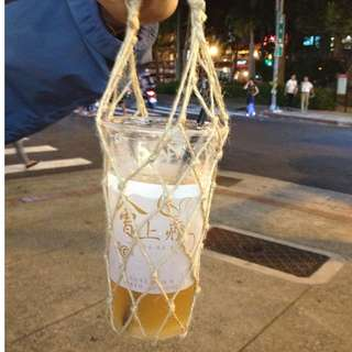 手工麻繩環保袋
