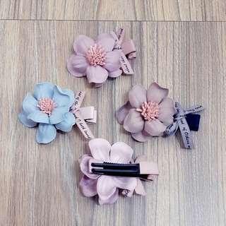 立體花髮飾【單售】
