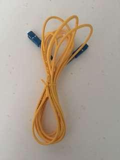 Fibre optics patch cord