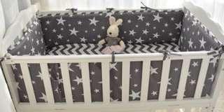 Crib Bedding Set / Cot Bumper Set