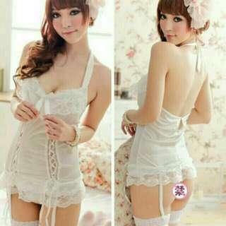 A-Luv 3 in 1 Sexy Lingerie Corset Nightwear dress/sleepwear