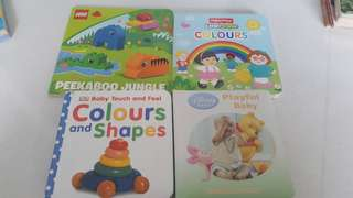 Toddler learning books