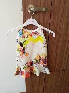 Camouflage Flora dress