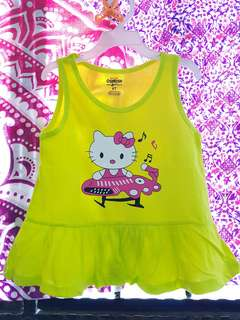 BRAND NEW sleeveless cartoon blouse