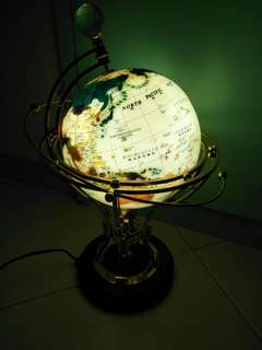 Antique Globe ( Can Glow)