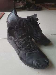 #murah Original Adidas Predator blackout first grade boots full leather shoe