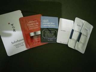 Sample Korean Skin Care