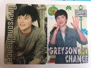 歐美明星 Greyson Chance Yescard 膠卡