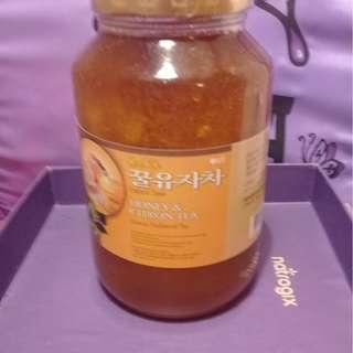 韓國柚子蜜茶