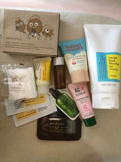 Korean Skin Care Bundle