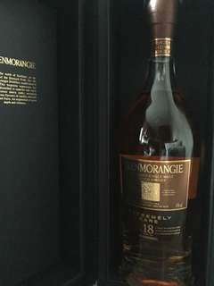 Glenmorangie single malt 18years